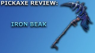 Iron Beak Pickaxe Review + Sound Showcase! ~ Fortnite Battle Royale