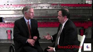 "Interview with Texas Attorney General Greg Abbott - ""A Working Plan for Texas"""