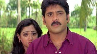 Nagarjuna Harikrishna Emotional Scene    Sitaramaraju Movie    Harikrishna,Nagarjuna