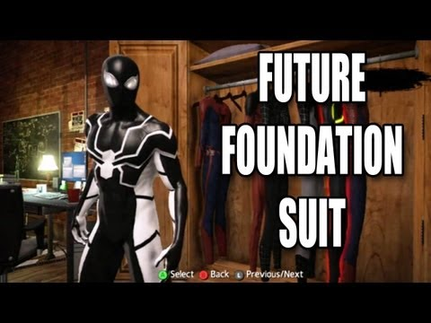THE AMAZING SPIDERMAN: HOW TO UNLOCK THE FUTURE FOUNDATION SUIT   CROSS SPECIES SUIT