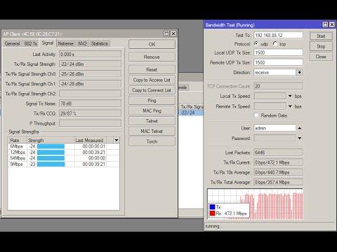 Impressions Mikrotik Sxt 5 ac test speed