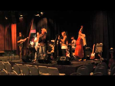 Woody Guthrie 100th Birthday Tribute sound checks, Creative Alliance, Baltimore 9/29/2012