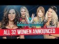All 32 Women Revealed For The 2nd Annual Mae Young Classic