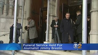 Funeral Service Held For Jimmy Breslin