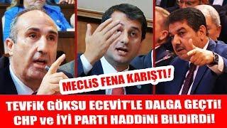 Meclis'te Bülent Ecevit Atışması! Tevfik Göksu'ya Haddini Bildirdiler!