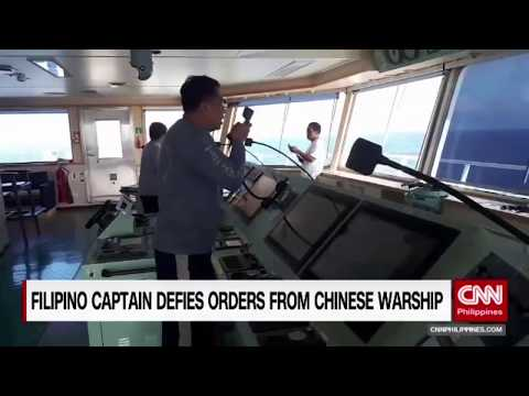 Filipino Captain Defies Orders From Chinese Warship