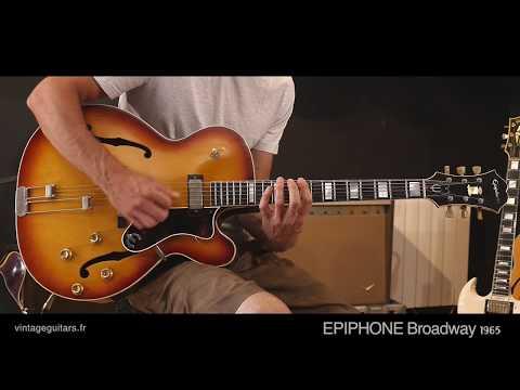 Vintage Guitars EPIPHONE Broadway 1965