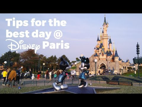 Tips for a magical day at Disneyland Paris - Travel Vlog Day #108