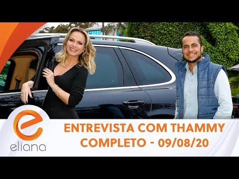 Entrevista com Thammy Miranda | Programa Eliana (09/08/20)