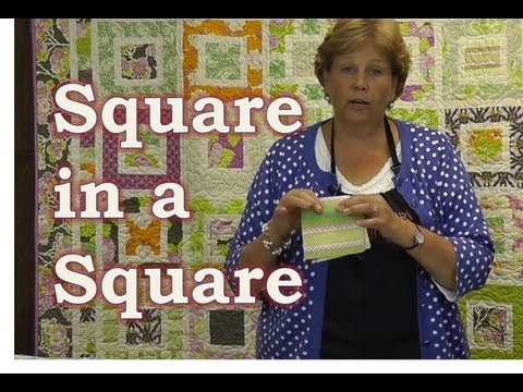 Make the Square in a Square Quilt Tutorial thumbnail