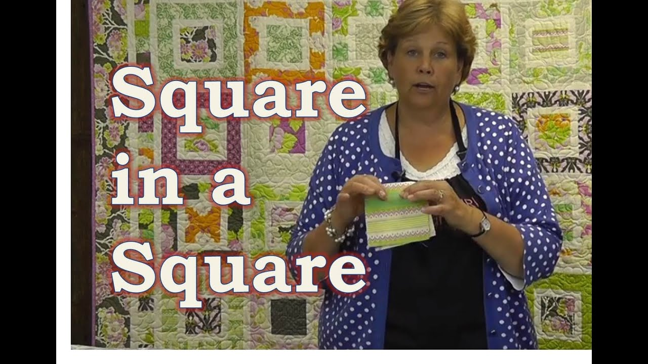 Make the Square in a Square Quilt Tutorial - YouTube : missouri star quilt tutorials - Adamdwight.com