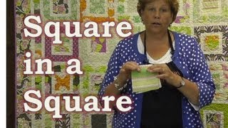 Make the Square in a Square Quilt Tutorial