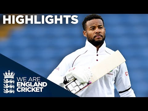 Hope Hits Hundred To Secure Historic Win | England v Windies 2nd Test Day 5 2017 - Highlights