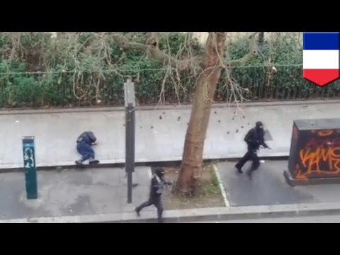 Paris Terror Attack: Jihadists Shoot Dead 10 Charlie Hebdo Magazine Staff, 2 Police