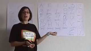 Alfabeto italiano - aprender italiano