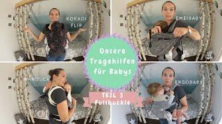 Tragehilfen für Neugeborene |Kokadi Flip, Emeibaby, Manduca & Ergobaby |Kathis Daily Life