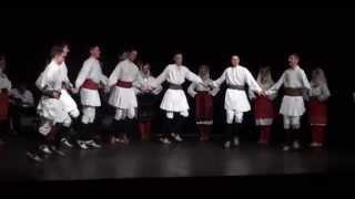"""Folklorni Ansambl """"Crna Gora"""" - Igre iz Zapadne Makedonije®"""