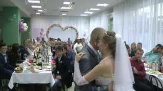 Ведущая на свадьбу Ольга Просвиркина. Танец невесты с папой
