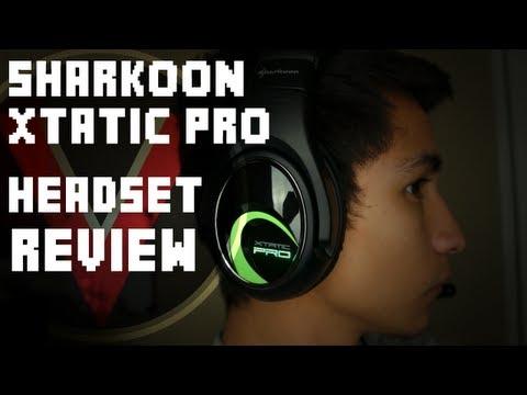 Sharkoon XTatic Pro Gaming Headset Review