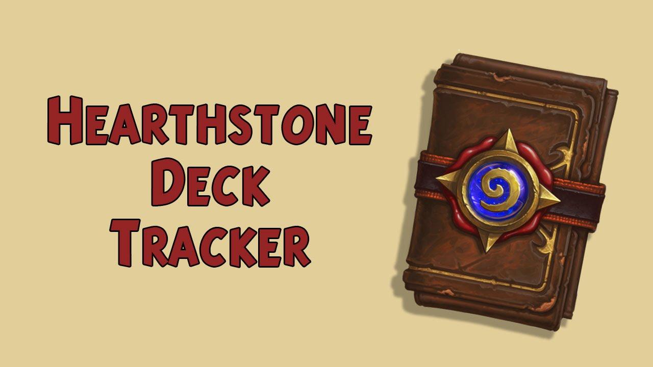Hearthstone deck tracker Présentation et explication FR ...