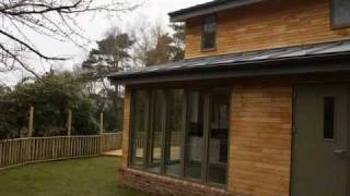 Bespoke Self Build House Using Timber Frame Construction.wmv