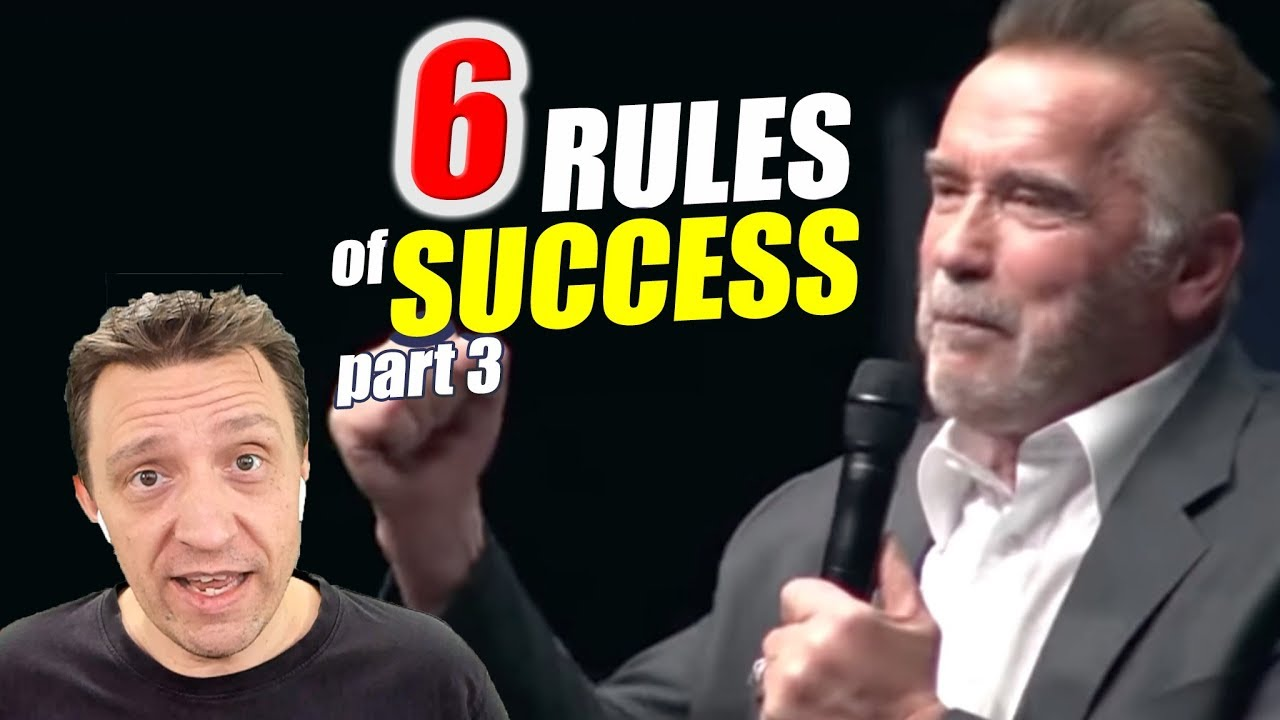 Think Big And Give Back Arnold Schwarzenegger S 6 Rules For