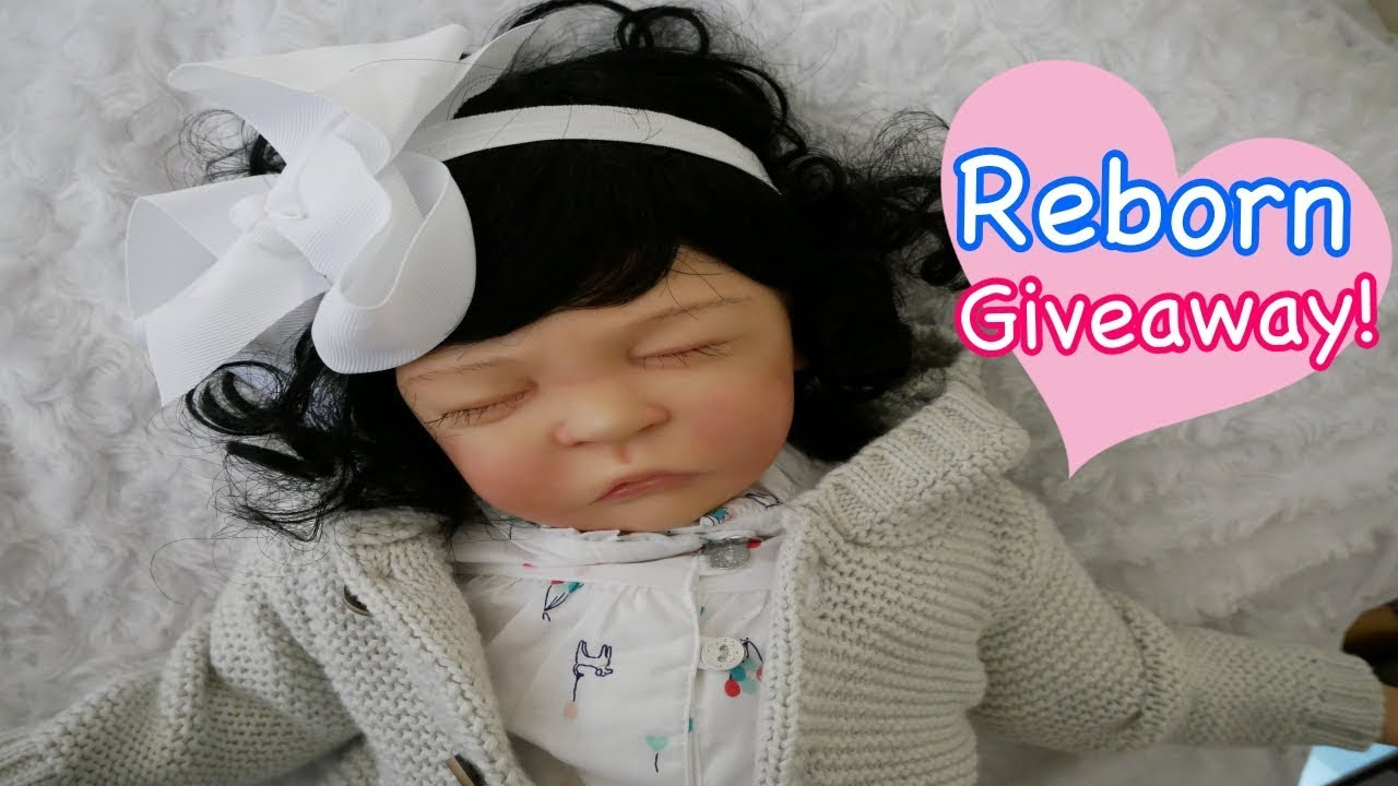 Reborn Baby Doll January Giveaway 2018 From All4reborns