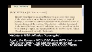 BIBLE CANON LIE DESTROYED! - Council of Nicaea / The Catholics did NOT decide the canon!