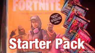 FORTNITE 2019 TRADING CARDS STARTER PACK PANINI SERIES 1