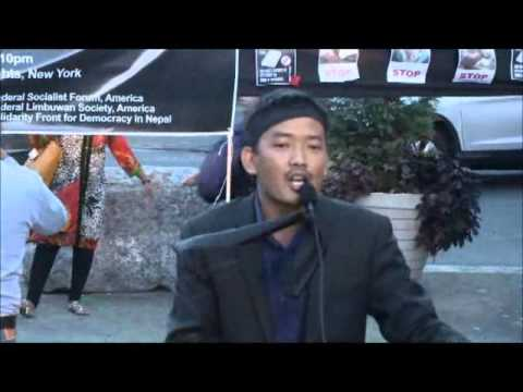 Why Nepal Anti Peoples Constitution Boycott in New York ? September 21 2015