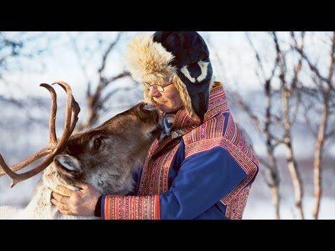 Nils-Matti the Reindeer Farmer in Lapland - FINLAND