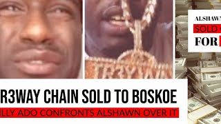 Tekashi BILLY ADO Confronts Alshawn MArtin over selling TR3WAY Chain to Boskoe