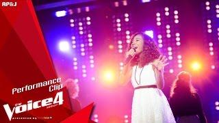 The Voice Thailand - นีน่า ณัฐพรรณ - Cry Me Out - 15 Nov 2015