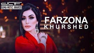 Farzona Khurshed - daf BAMA MUSIC AWARDS 2017
