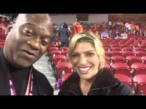 Cheryl Cosenza Of CBS Wilde Weddings At Super Bowl 50 #SB50