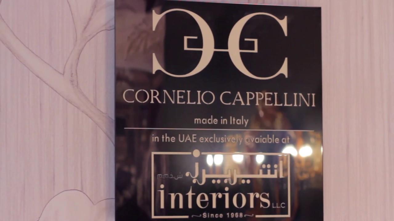 Interiors Presents Cornelio Cappellini At INDEX Dubai 2017. Interiors  Furniture