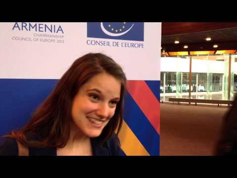 Internships at the Council of Europe: Meet An Cuypers