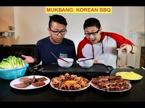 FIRST MUKBANG!!!! KOREAN BBQ