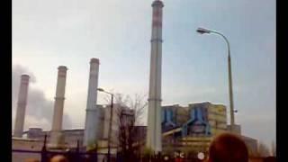 Elektrownia konin Wysadzanie najstarszego Komina