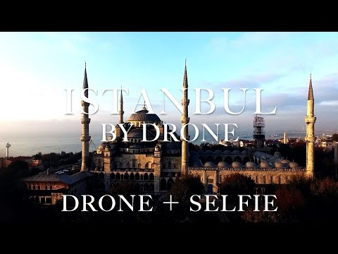 Travel the world,Istanbul,Turkey by drone(phantom) 世界一周