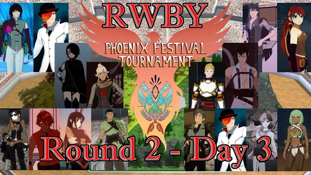 RWBY: Phoenix Festival Tournament Round 2 - Day 3