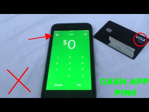 ✅  Cash App PIN - Where Is It? 🔴