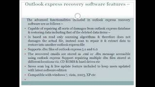 Outlook Express Recovery Software Reviews
