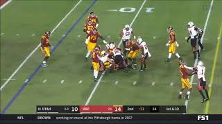 Michael Pittman Jr. (USC WR) vs. Utah 2019