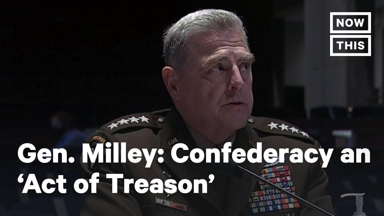 Download General Mark Milley Calls Confederacy an 'Act of Treason' | NowThis