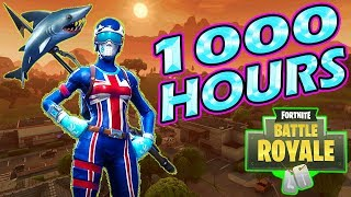 What 1000 HOURS of FORTNITE Experience Looks Like