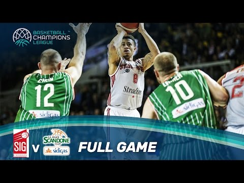 SIG Strasbourg v Sidigas Avellino - Full Game - Basketball Champions League