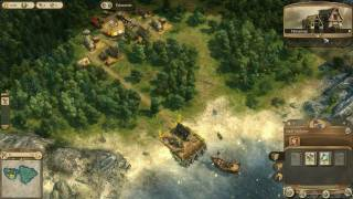Anno 1404 PC Gameplay HD 4870