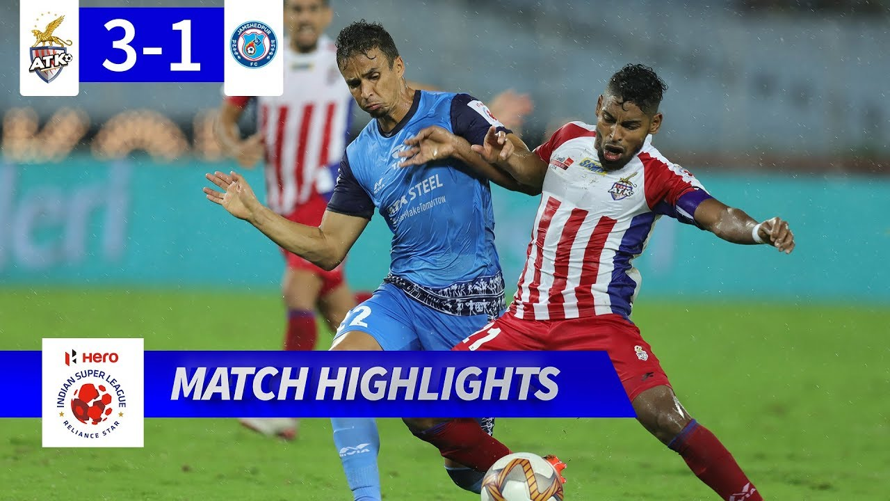 ATK 3 - 1 Jamshedpur FC - Match 19 Highlights | Hero ISL 2019-20