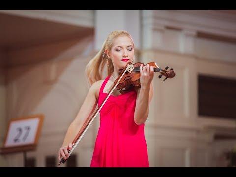 Amelia Maszońska (Poland) - Stage 2 - International H. Wieniawski Violin Competition STEREO
